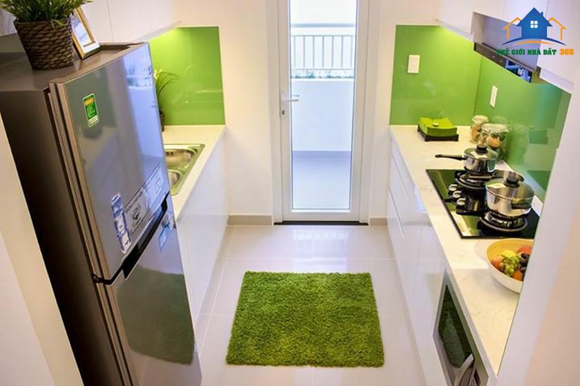 Nhà bếp căn hộ mẫu Pegauite Quận 8