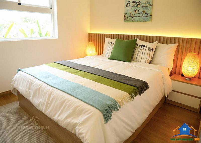 Phòng ngủ căn hộ mẫu Moonlight Boulevard - Bình Tân