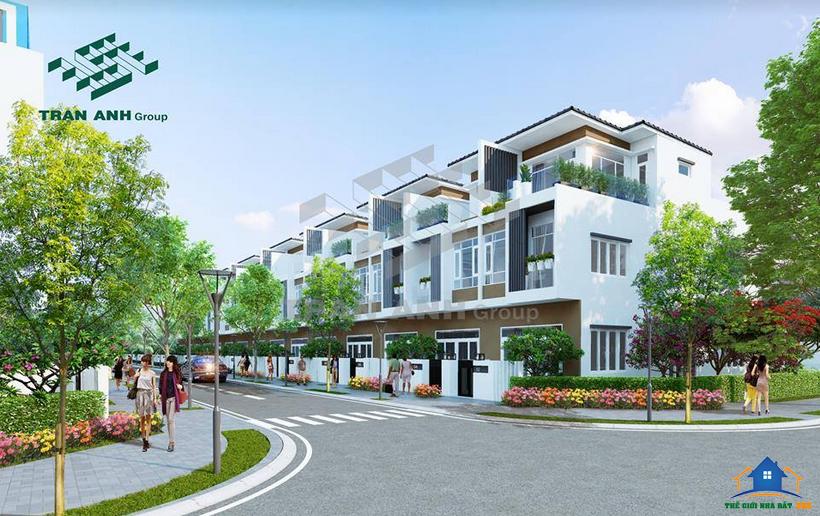 Phối cảnh dự án Căn Hộ Bella Villa - Khu Culubhouse