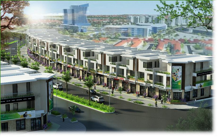 Mặt phố Khu đô thị Long Hưng - Đất nền Dự án Dreamland City Đồng Nai