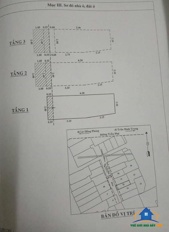 Bán nhà mặt tiền đường Trần Phú Quận 5 by: Thế Giới Nhà Đất TPHCM - Mua bán nhà đất giá rẻ TPHCM