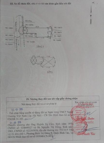 Cần tiền kinh doanh bán gấp nhà P. Bình Trị Đông, Quận Bình Tân 5x30