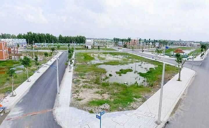 Hình ảnh Khu đô thị Phúc Giang Bến lức Long An, đất nền phúc khang graden công ty thắng lợi Group