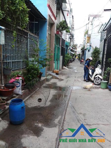 Bán nhà hẻm đường Bùi Minh Trực Phưởng 5 Quận 8 TPHCM