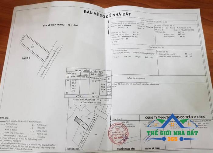 Mua bán nhà quận 8 giá rè, bán nhà đường âu duông lân quận 8 by: Thế giới nhà đất 365