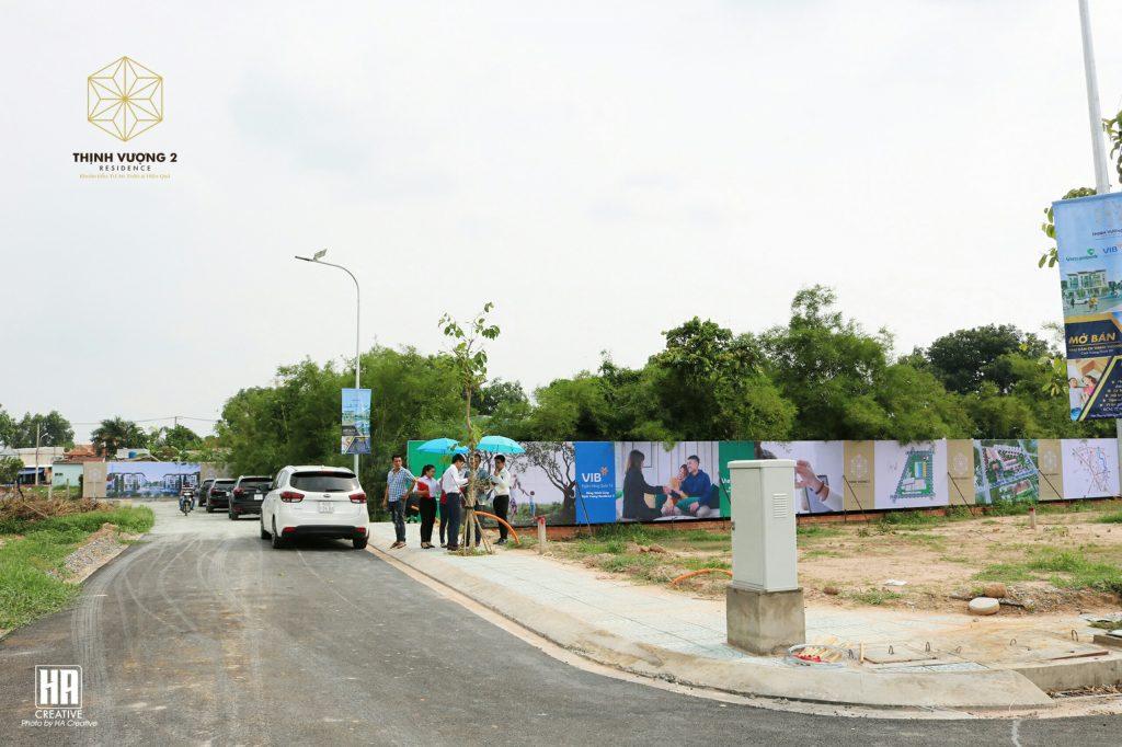 Hình ảnh thực tế dự án đất nền Khu Dân Cư Thịnh Vượng 2 Residence tại Củ Chi