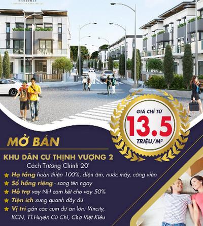 Giá bán Dự án khu dân cư Thịnh Vượng Residence