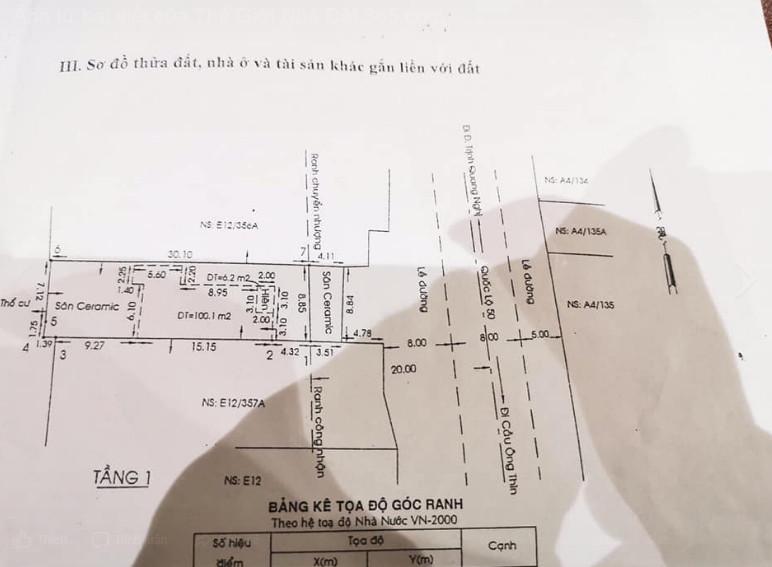 Bán nhà huyện Bình Chánh giá rẻ: Bán nhà Mặt tiền quốc lộ 50 huyện Bình Chánh